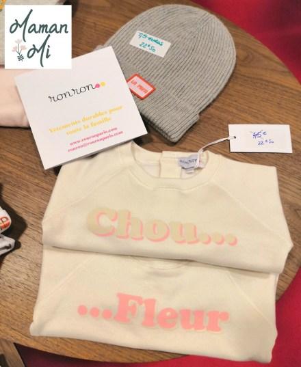 ronron vêtements pour bébé enfant famille