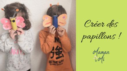 Créer des papillons !