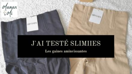 J'ai testé Slimiies Maman Mi blog