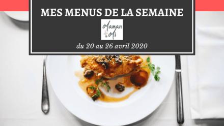 menus de la semaine-maman mi-blog
