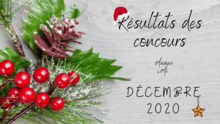 résultats concours decembre 2020