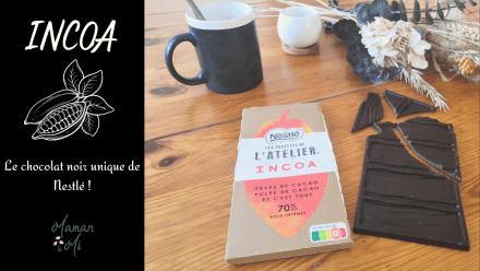 chocolat noir nestlé incoa maman mi blog avril 2021