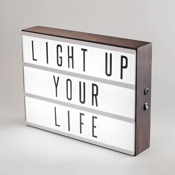 LIGHTBOX LIGHT UP YOUR LIFE