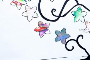 Un joli tableau pour récupérer les dessins d'enfants