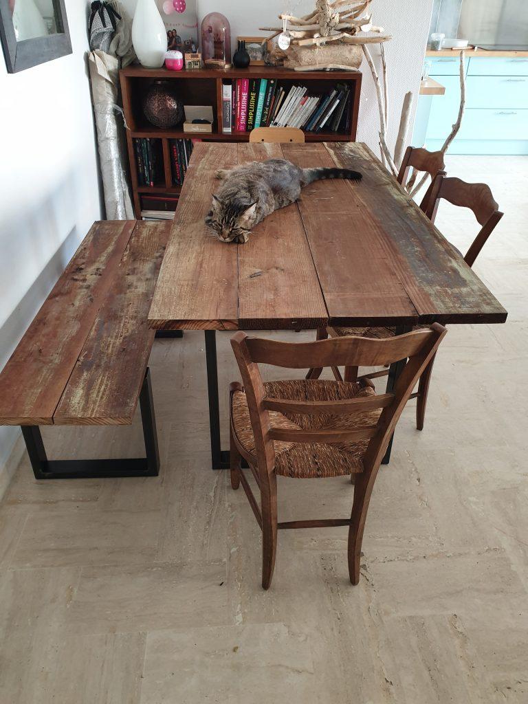 Ripaton Pieds De Table faire une table de salon en diy - maman pavlova