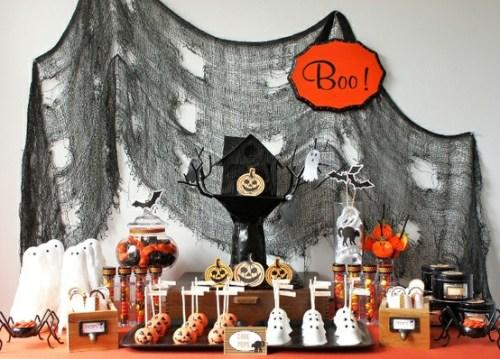 Mon Top 5 Sweet table Halloween #halloween