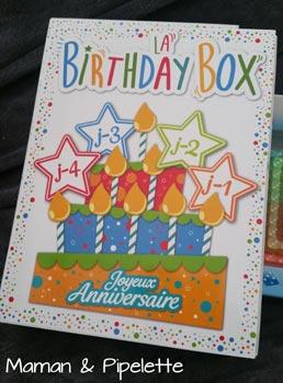 La birthday box, tic tac c'est bientôt ton anniversaire