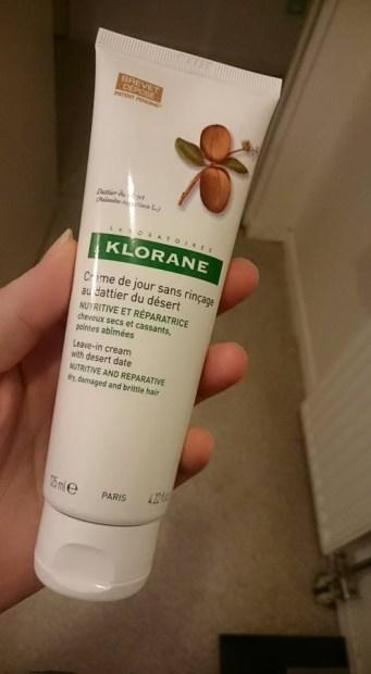 gamme klorane cheveux secs et cassants