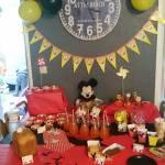 Déco d'anniversaire Mickey pour les 5 ans de Nathan