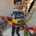 DIY : un bouclier et une épée de chevalier