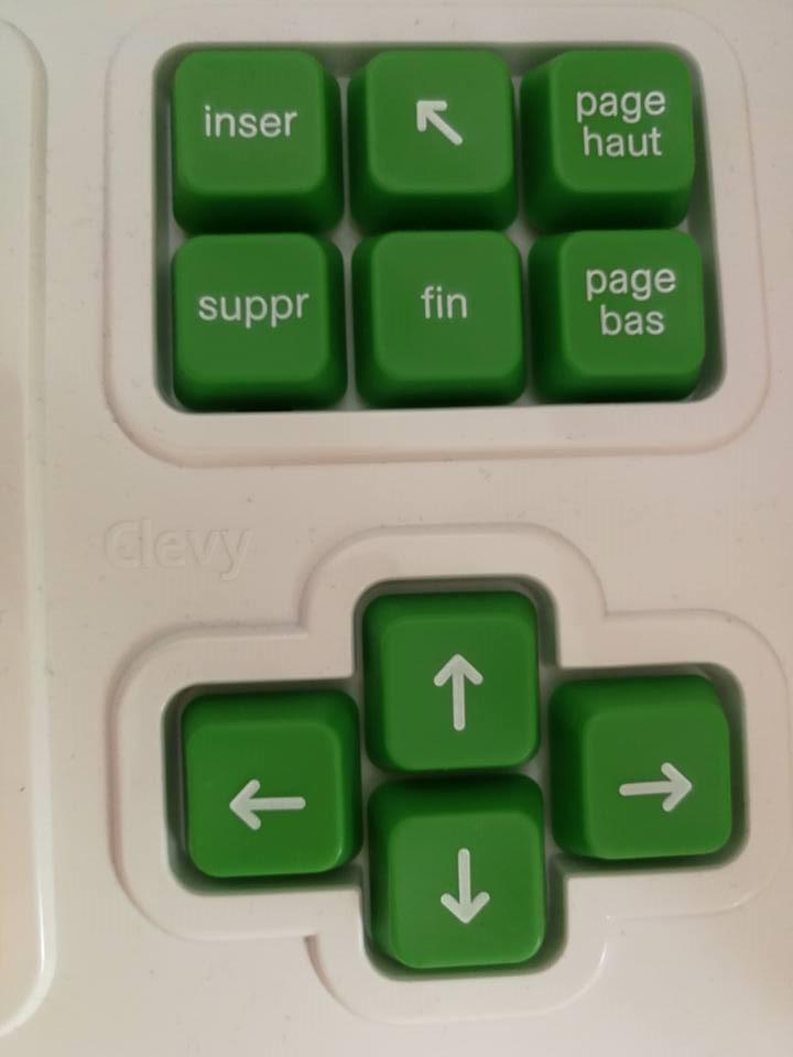 Un clavier ergonomique Clevy pour les enfants de 3 à 8 ans !