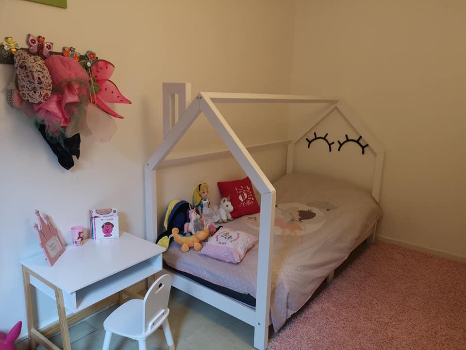 Une chambre de grande pour petite fille de 3 ans