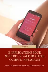 Instagram 8 applications pour mettre en valeur votre feed