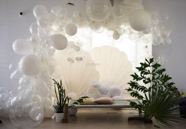 ballons transparents