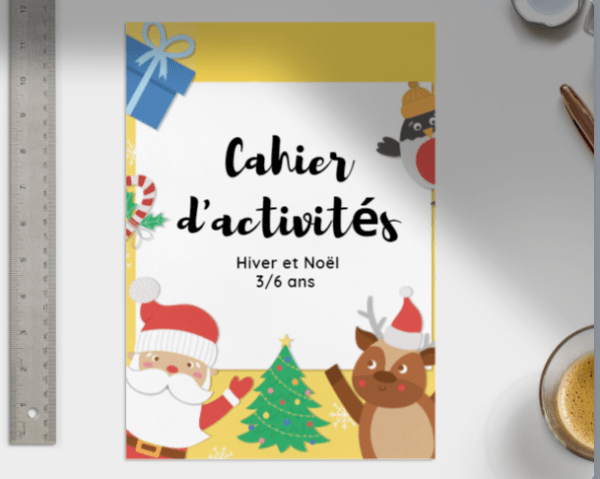 cahier d'activités noël