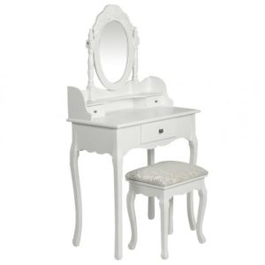 coiffeuse-blanche-siege-avec-miroir-inclus