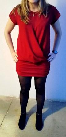 robe rouge ikks