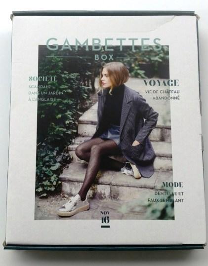 gambettes box novembre
