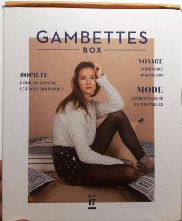 gambettes box janvier