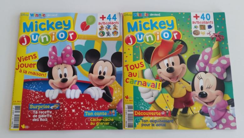 magazine mickey junior