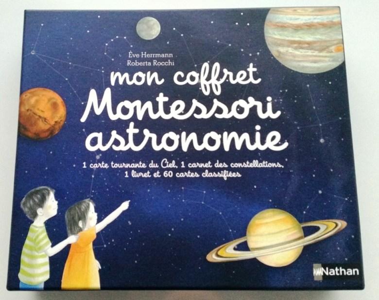 coffret montessori astronomie