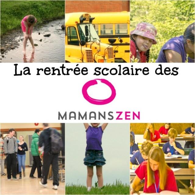 non rentrée scolaire unschooling déscolarisation Québec mamans zen maman à la maison alternative école