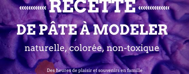 Recette de pâte à modeler maison naturelle, colorée, non-toxique, Blog Mamans Zen, Profession: Mamans à la maison