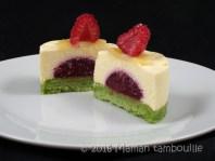 entremet pistache framboise creme amande52