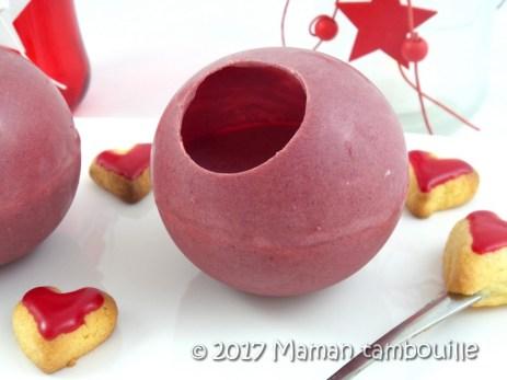 sphere mousse de fruits rouges22