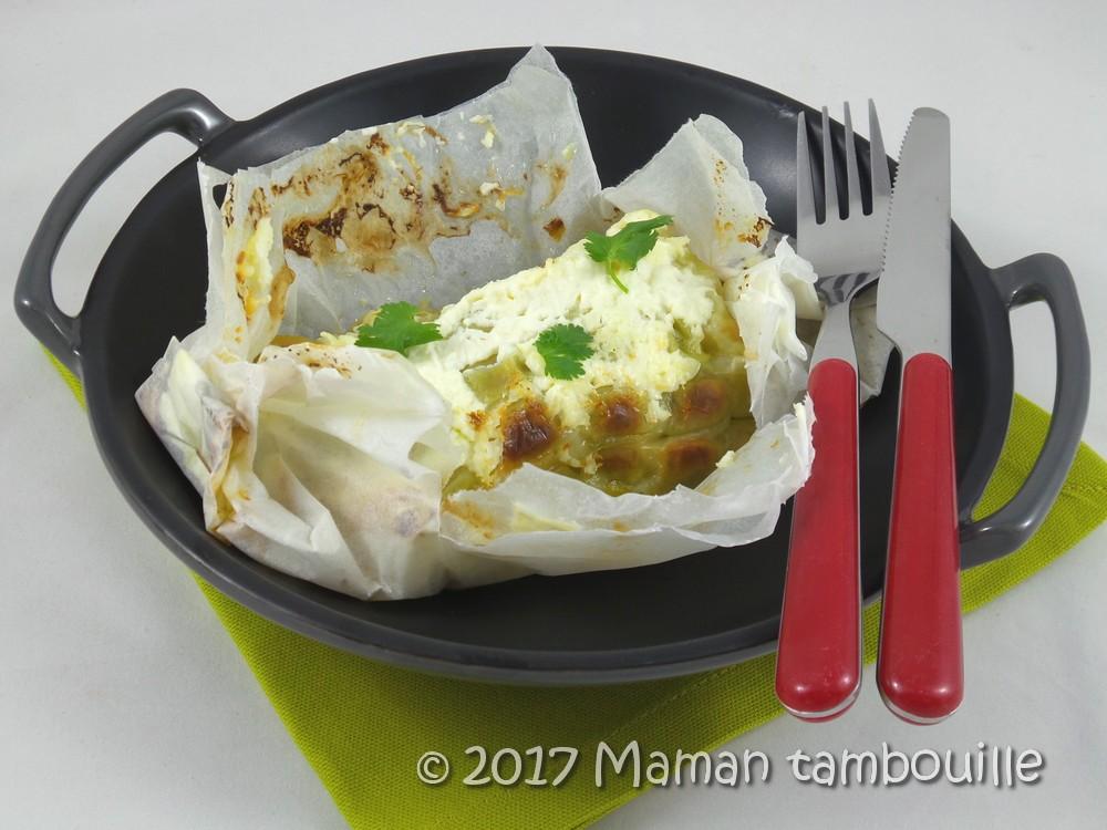 saumon aux ravioles en papilottes09