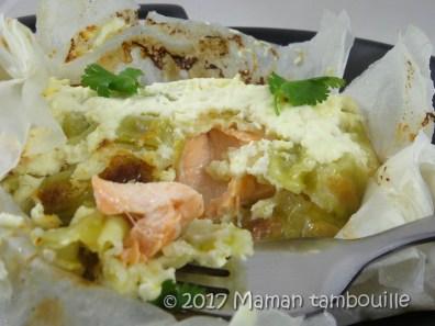 saumon aux ravioles en papilottes19