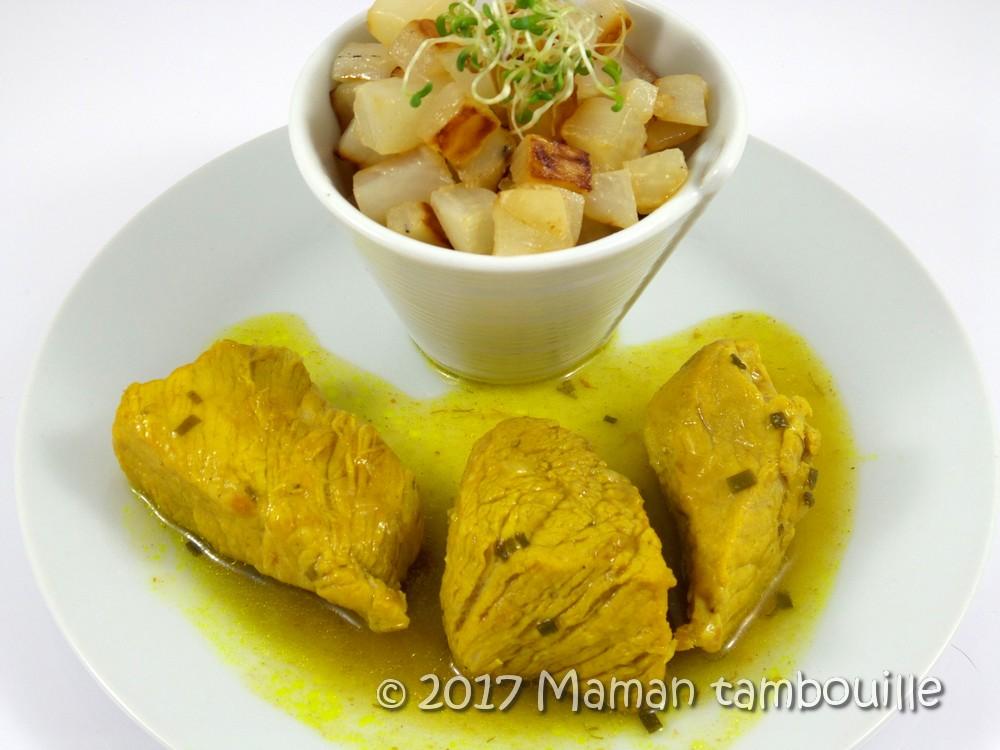 sauté de porc au curry14