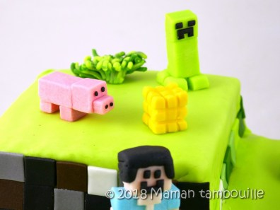 gateau minecraft40