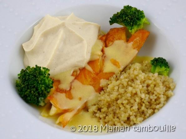 haddock sauce à l'orange emulsion de choufleur15