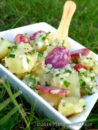 salade de pommes de terre aux herbes14