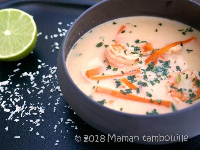 soupe thai aux crevettes19