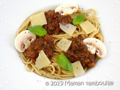 spaghetti fausse bolognaise20