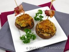 champignons au roquefort14