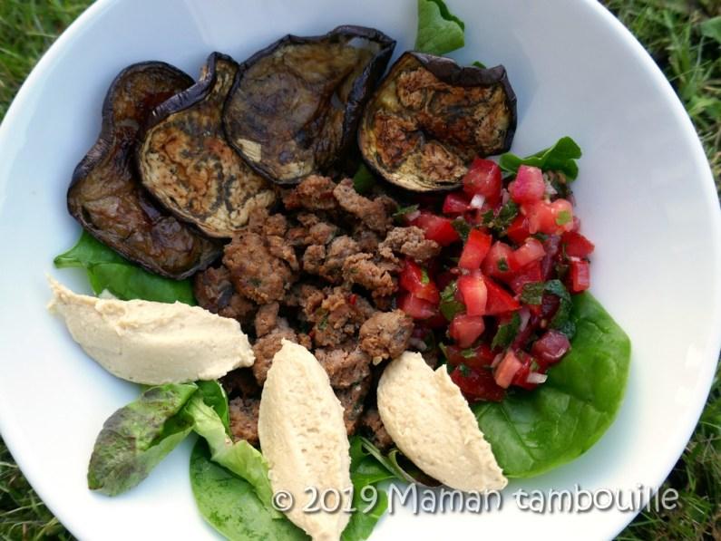 assiette boeuf houmous tomates10