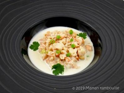 ajo blanco crevettes08
