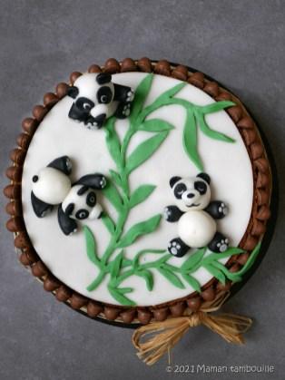 gateau panda28