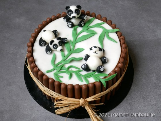 gateau panda38