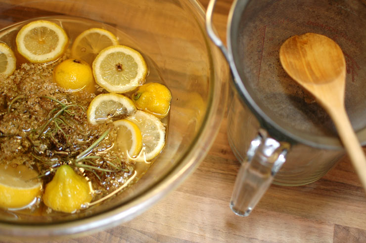 Ready to Strain Elderflower Cordial from Mamanushka.com