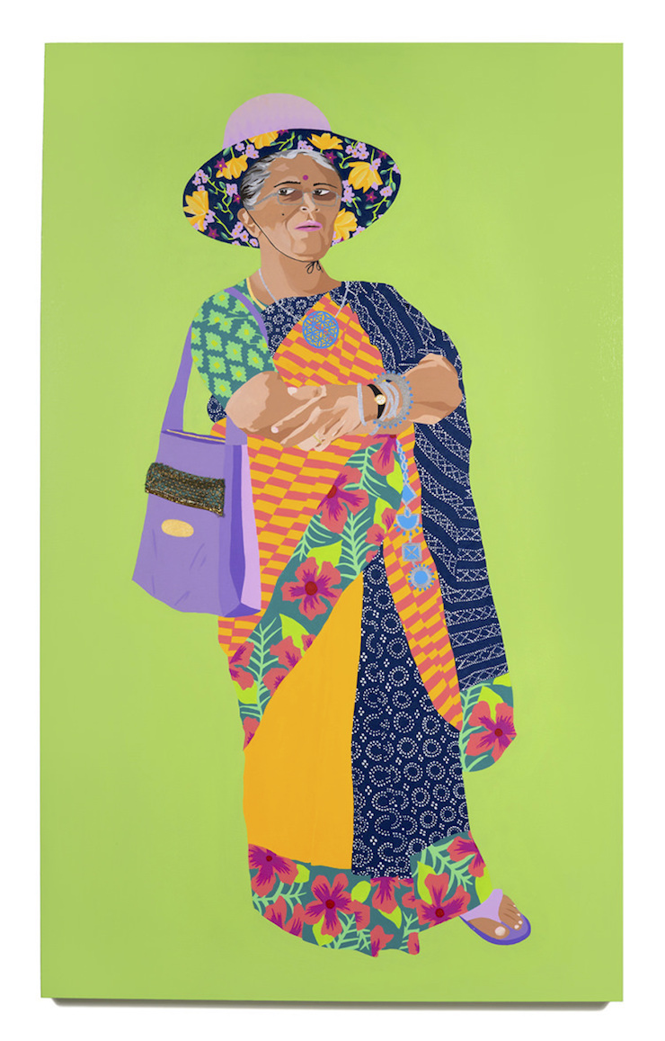 Love Our Aunties || Upping The Aunty, Gunalaxsmi Aunty by Artist Meera Sethi || Mamanushka.com