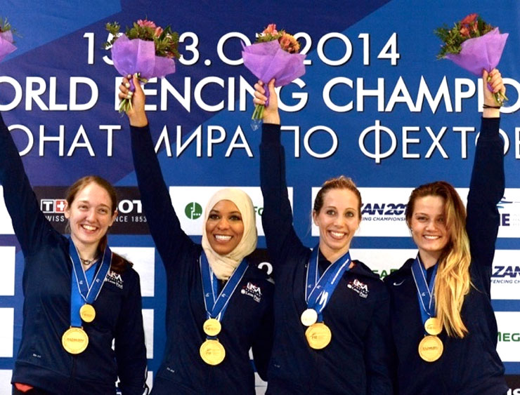 Mamanushka.com || Changing the Way We See The Games || Muslim Women Olympians