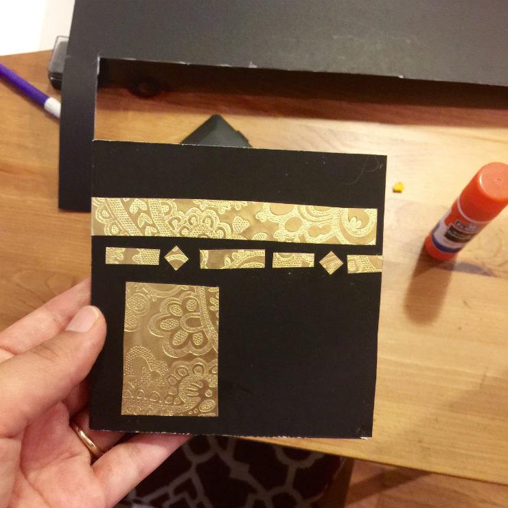 Mamanushka.com || Cute Kaaba Cards || Eid Craft || Hajj Craft