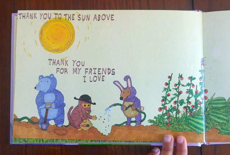 MAMANUSHKA.com || An Awesome Book of Thanks || By Dallas Clayton || Children's Book || Thanksgiving