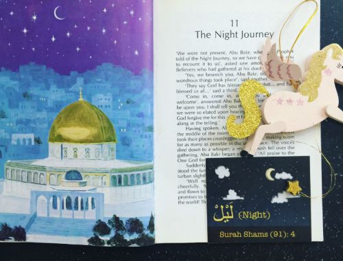 MAMANUSHKA.com || Five Great Ways to Share Al-Isra Wal-Mir'aj With Children || Book By Mardijah Aldrich Tarantino|| Best for Tweens || Islamic Calendar || Muslim Festivals