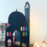 A Cute Cardboard Mosque & How To Make It