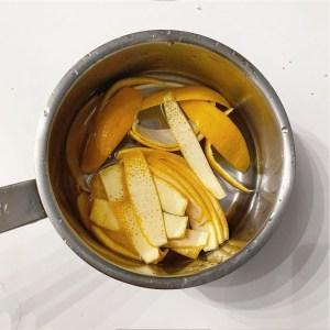 recette biscuit noel orange anti-gaspi epluchure